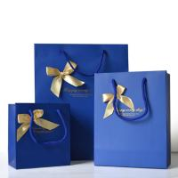 China Promotional Personalized Paper Gift Bags , Paper Shopping Bag With Handles wholesale