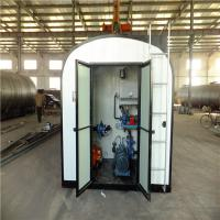 China Square Bitumen Storage Tank Carbon Steel Material For Road Construction wholesale