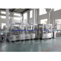 China Electric Water Bottle Filling Machine For 330ml / 500ml Automatic PET Bottle Filling Line wholesale