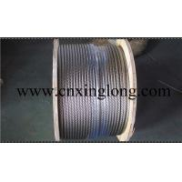 China sell xinglong galvanized aircraft cable and aisi 304 stainless steel aircarft cable wholesale