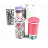 China Glossy Lamination Round Metal Biscuit Tins For Wedding Anniversary Gift Packaging on sale