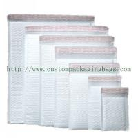 China White Poly Bubble Mailers , Self Adhesive Poly Mailers Envelopes Bags PE Material wholesale
