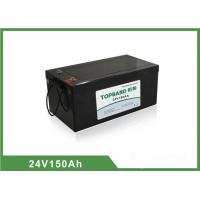 China 24V 150Ah LiFePO4 Electric Forklift Battery Deep Cycle Over 2000 cycles @ 100 % DOD wholesale