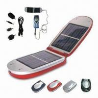 China Solar Mobile Phone Charger, Available with Different Adapters wholesale