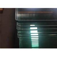 China Bend / Curved Tempered Safety Glass For Curtain Wall , Toughened Safety Glass wholesale