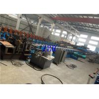 China Galvanized Steel Silo Forming Machine GCr15 Rollers With 18 Forming Stations on sale