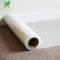 China 0.055-0.2mm Clear Transparent Easy Peel off Cover Dust Sheet Film on sale
