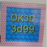 China OK3D hot sales fly-eye lens 3d photo frame 3d fly eye photo frames,dot lenticular frames,3d fly eye photo frames prints wholesale
