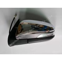 W Indicator Fit Toyota Hilux Revo Parts , Plastic Back Door Chrome LED Side Mirror