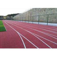 China No Slip VOC Free Safety Artificial Running Track Flooring Anti UV Long Life wholesale