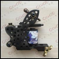 China Black Handmade Tattoo Machines / Unique Tattoo Machine Equipment wholesale