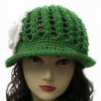 China Hand Knitted Hat for Women, OEM Orders are Welcome wholesale