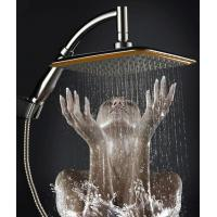 China China Ningbo cixi  factory 9-inch handheld-head shower with two functions one as hand shower and other head shower new wholesale