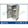 Buy cheap IP65 19 Inch Rack One Front Door 42U Outdoor Communication Cabinet from wholesalers