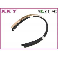 China 20Hz - 20KHz CSR8635 Chipset Retractable Bluetooth Headset Built In Microphone wholesale