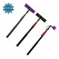 Buy cheap High Stiffness 100% 3K Carbon Fiber Telescopic Pole Water Fed Adjustable Cleaning Pole from wholesalers