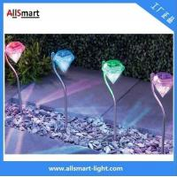 Buy cheap low voltage colorful Villa garden staircase solar led diamond lights from wholesalers