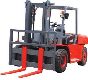 China 2200r/Min 10t Logistics Machinery 4 Wheel Electric Forklift wholesale