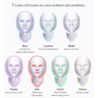 China OEM 15w 194 Lamps Led Facial Neck Mask For Beauty wholesale
