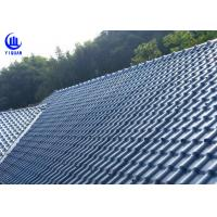 China Anti Corrosion Asa Synthetic Resin Roof Sheet High Pavement Efficiency wholesale