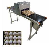 China Intelligent Date Code Printing Machine , Laser Date Code Printer For Eggs wholesale
