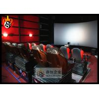 China Professional 5D Movie Theater Equipment with 5D Projector System , Hydraulic Platform wholesale