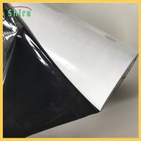 China Black / White Stainless Steel Self Adhesive Film Surface Protection Film wholesale