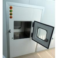 China Medical Cleanroom Pass Through Chambers With SS Hinges 0.75kw 380V wholesale