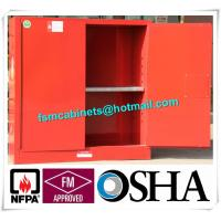 China Fireproof Corrosive Chemical Storage Cabinets For Diesel / Engine Oil / Lubricating Oil wholesale
