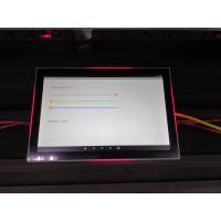China meeting room application 10 inch glass mount android OS rooted POE tablet with led light bar wholesale