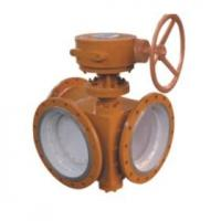 Electric 3 Way Butterfly Valve