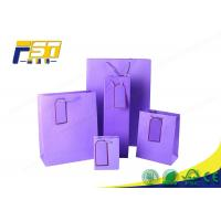 China Durable Cardboard Display Boxes Full Color Gift Paper Packaging Bag With Handle wholesale