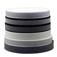 China Woven Design 20mm Sewing Edge Tape Polyester Pp Material Plate / Stripe Pattern wholesale