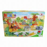 China Music Block, 44.5 x 9.0 x 28.5cm Box Size and OEM Orders Welcomed wholesale