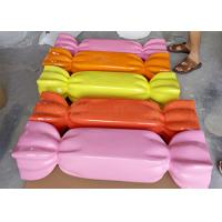 China Lovely Fiberglass Candy Statues , Fiberglass Display Props Highly Attractive wholesale