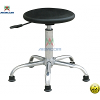 China Cleanroom 10e8 Ohm 620mm Adjustable ESD Antistatic Chair wholesale