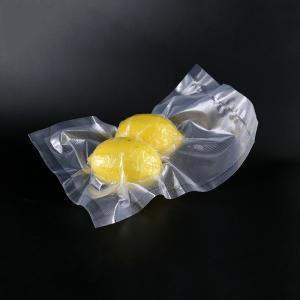 China PE Nylon 90 Microns Embossed Vacuum Bag Transparent BPA Free wholesale