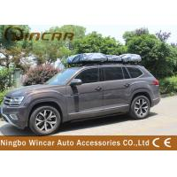 Manually Car Top Roof Rack Tent Open In One Side Aluminum Frame For Suv