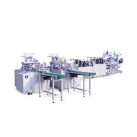 Buy cheap Disposable Three Layer Outer Earloop Mask Manufacturing Machine from wholesalers