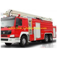 China Modern Fire Truck 6x4 12 CBM with warranty and spare parts , Fire Vehicle Equipment wholesale