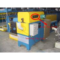 Galvanized Square Steel Pipe Making Machine , Elbow Pipe Forming Machine 3 Tons