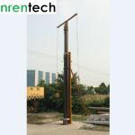 China 21m lockable pneumatic telescopic mast 100 payloads NR-3660-21000-100L / antenna telescopic mast/ telescoping mast wholesale