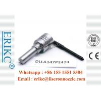 China ERIKC DLLA 147P2474 diesel injector nozzle parts DLLA 147 P2474 bosch p type injector nozzle DLLA 147P 2474 on sale
