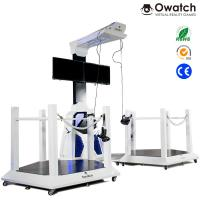 China VR Walking space platform 9d virtual shooting simulator for double players wholesale