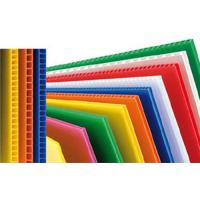 China Custom Reusable PP Plastic Corrugated Plastic Sheets For Packing Box / Billboard wholesale