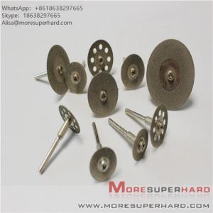"China Diamond Cutting Wheel, 10PCS 1/8"" Diamond Cutting Discs Cut-off Wheel Blades Set For Dremel Rotary Tool by Lukcase wholesale"