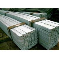 China Cold Drawn / Pickling Stainless Steel Flat Bar , JIS 201 202 301 wholesale