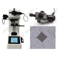 China Digital Micro Vickers Hardness Tester With Built - In Printer Halogen Lamp wholesale