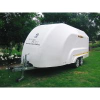 China FRP motorcycle luggage trailer/fiberglass trailer shell/fiberglass body shell for trailers on sale