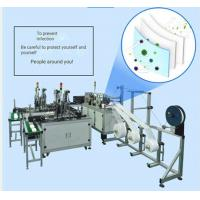 China 220V Face Mask Production Line , Disposable Face Mask Manufacturing Machine wholesale